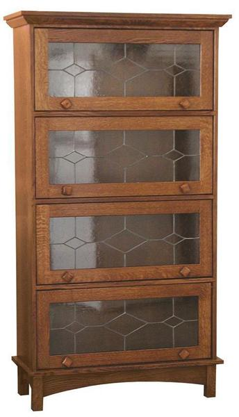 Amish Mission Barrister Bookcase