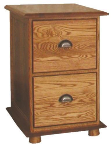 Amish Lincoln 2 Drawer File Cabinet