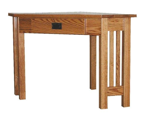 Amish Mission Corner Desk
