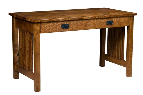 Amish Mission Jr. Computer Desk with 2 Mission Legs