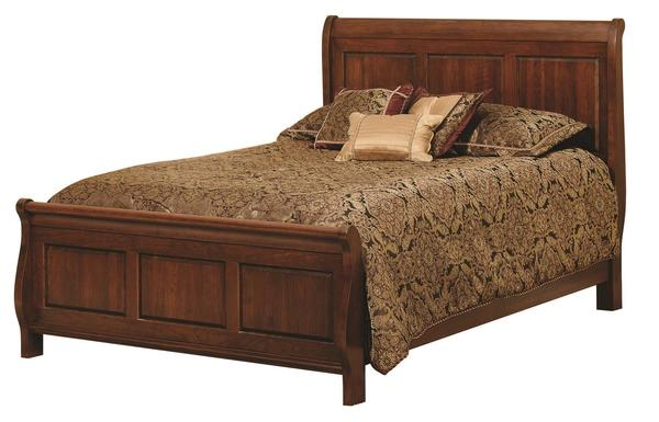 Amish Wilkshire Sleigh Bed