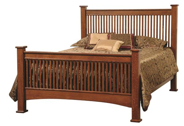 Amish Troyer Ridge Mission Bed