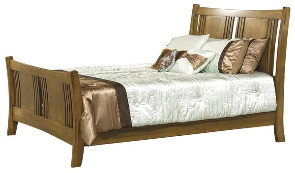 Amish Granville Sleigh Bed