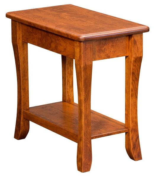 Amish Berkley End Table with Shelf