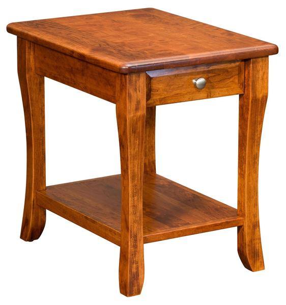 Amish Berkley End Table with Drawer