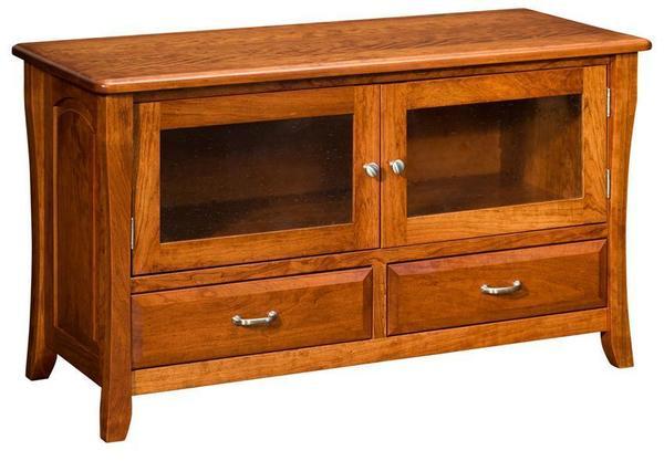 Amish Berkley TV Cabinet with Doors