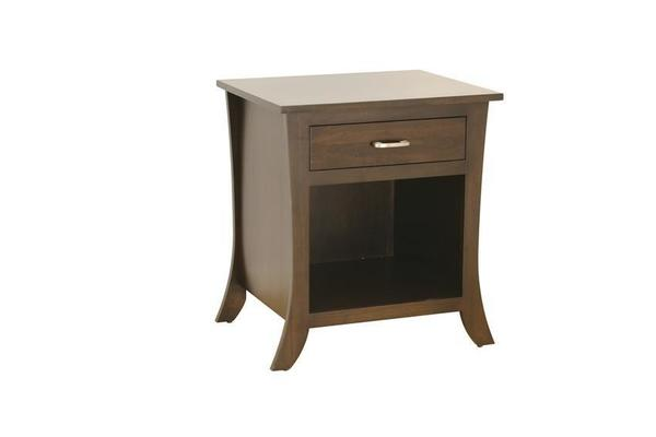 Amish Cardinal Contemporary One Drawer Nightstand