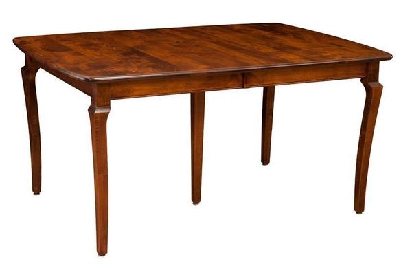 Amish Leg Extension Dining Room Table