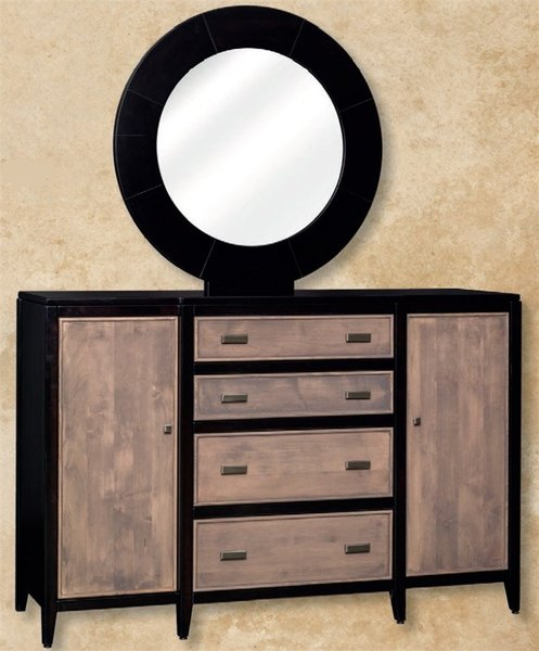 Amish Juniper Valley Dresser with Optional Mirror