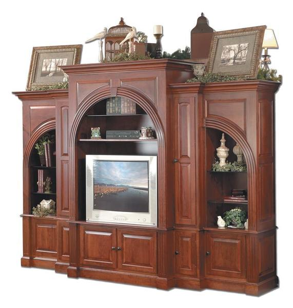Amish Washington Five Piece Entertainment Center