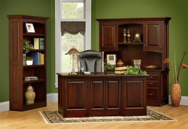 Amish Liberty Classic Executive Office Suite