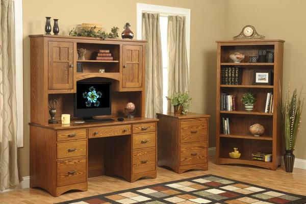 Amish Prairie Mission Home Office Set