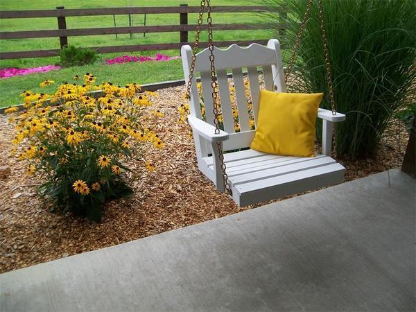 Amish Pine Wood Royal English Chair Swing