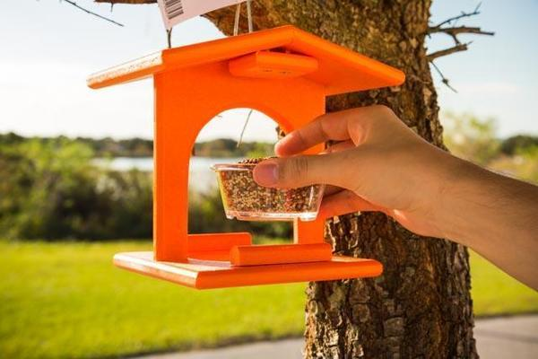Amish Poly Oriole Bird Feeder