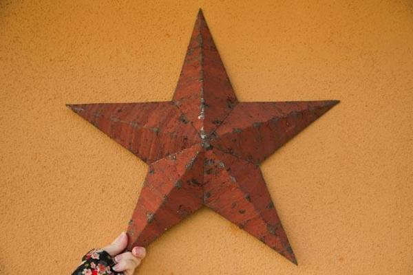 Amish Made Tin Barn Star