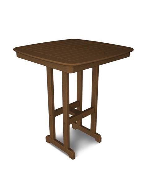 """POLYWOOD® Nautical 37"""" Bar Table"""
