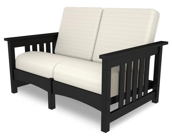 POLYWOOD® Mission Settee Loveseat