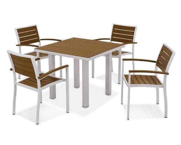 POLYWOOD® Euro 5-Piece Dining Set