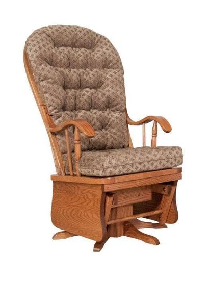 Amish Winchester Swivel Glider