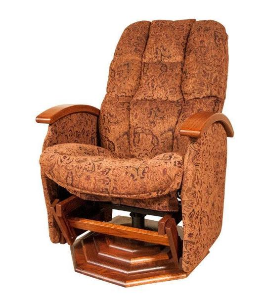 Boulder Creek Deep Swivel Glider From Dutchcrafters Amish