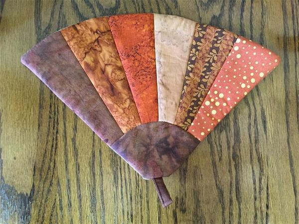 American Made Potholder Fan Quilt Design