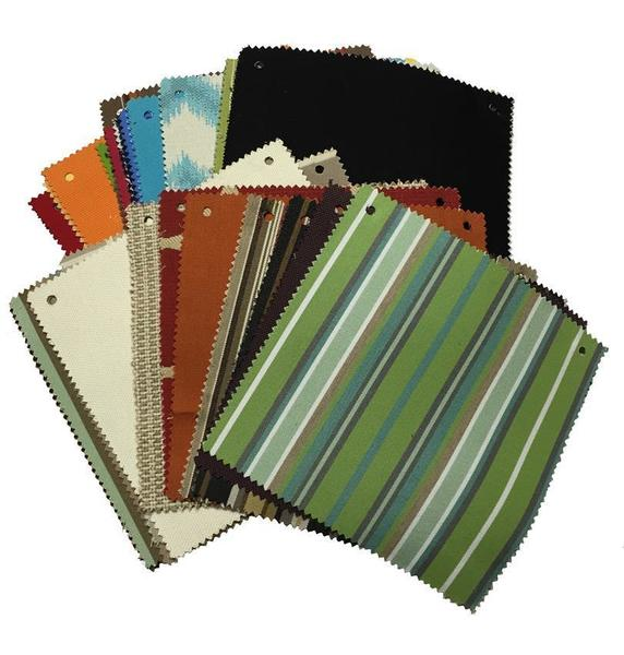 Berlin Gardens Sunbrella Fabric Samples-Note Sample Fee Refunded When Samples Returned
