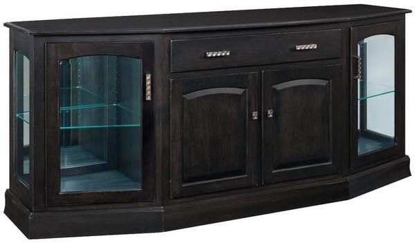 "Manchester 76"" Canted Buffet by Keystone"