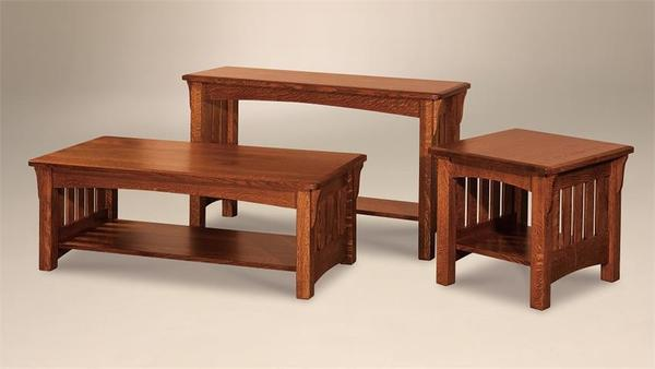 Shelby Mission Coffee Table With Optional Lift Top From Dutchcrafters