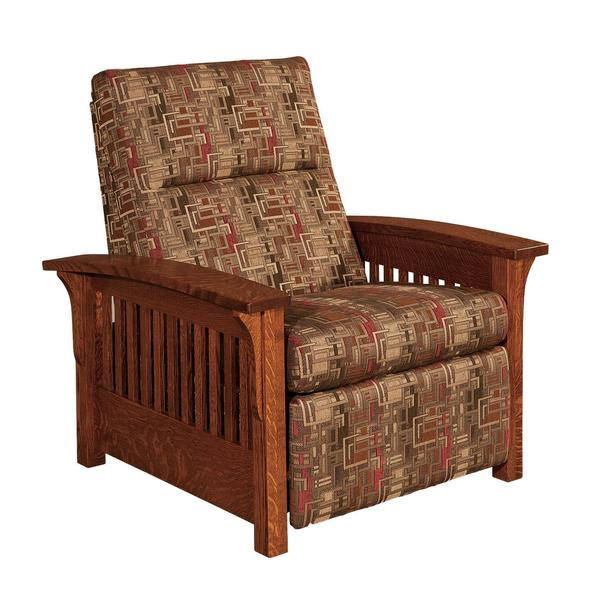 Amish Skyline Slat Mission Recliner