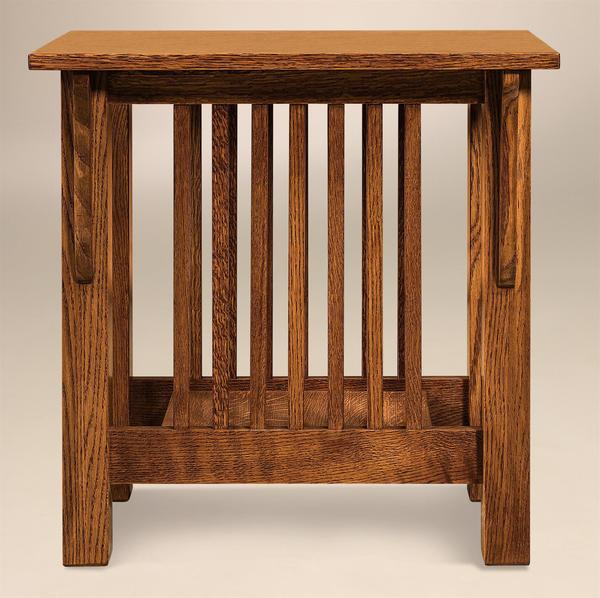 Amish Mallory Mission End Table