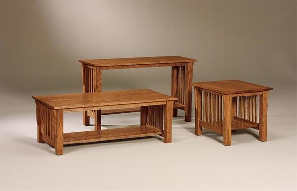 Amish Mallory Mission Coffee Table