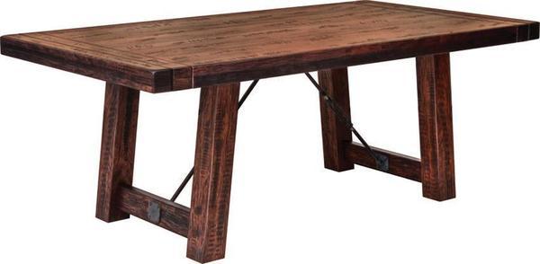 Amish Glenwood Trestle Table
