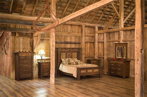 Amish Glen Arbor Rustic Six Piece Bedroom Set