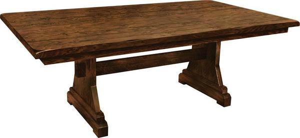 Amish Trueman Trestle Table