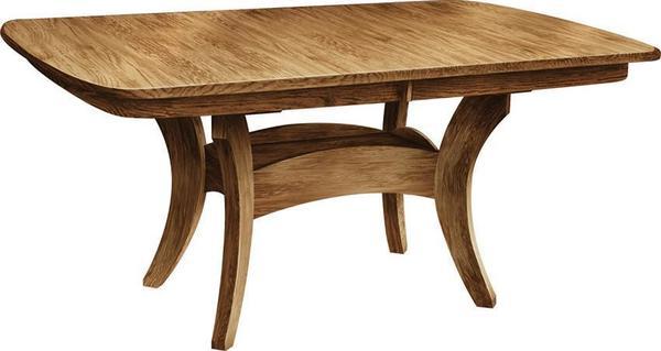 Amish Galveston Pedestal Table