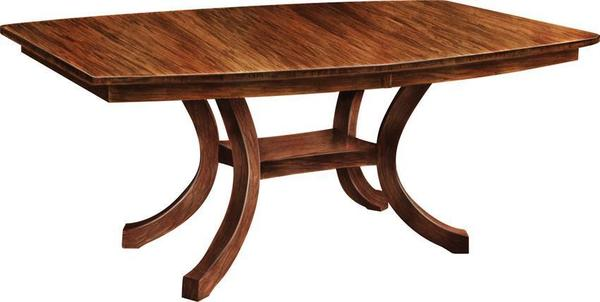 Amish Extended Carlisle Shaker Table