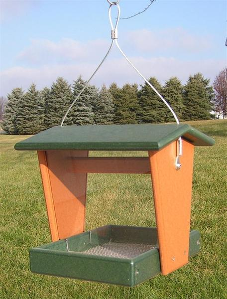 Amish Poly Lumber Bird Feeder