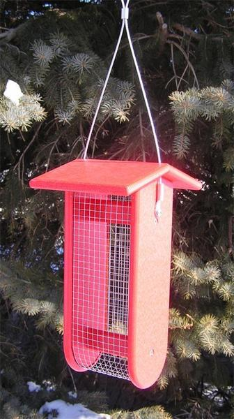 Amish Poly Split Peanut Bird Feeder