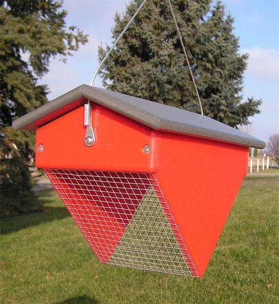 Recycled Poly Upside Down Peanut Bird Feeder
