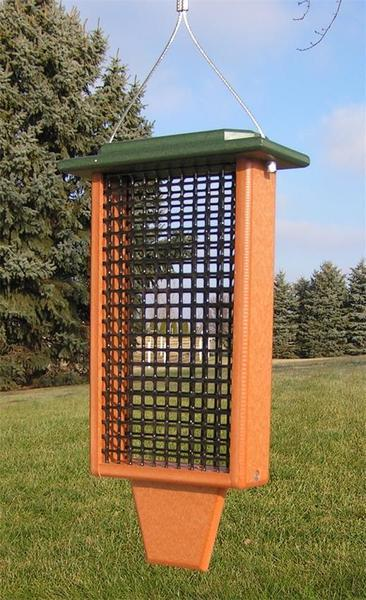 Amish Poly Double Suet Bird Feeder