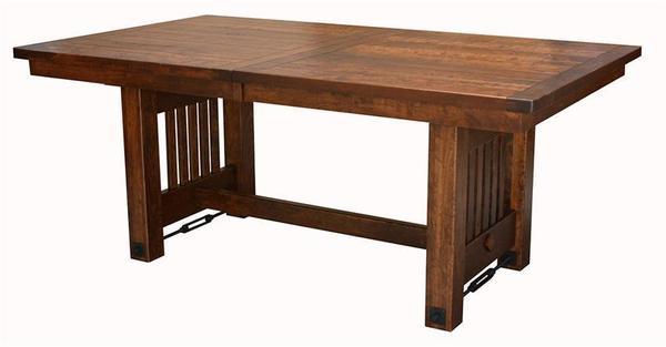 Amish Jordan Trestle Dining Room Table