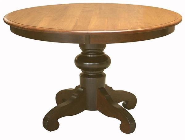 Amish Stonecroft Pedestal Dining Room Table
