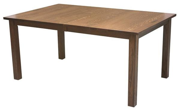 Amish Mission Leg Dining Room Table