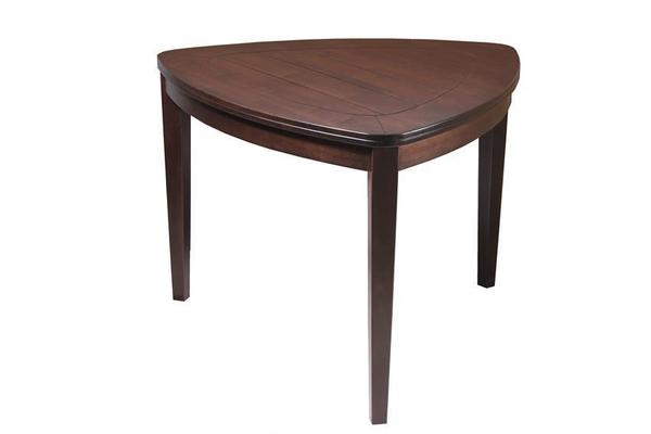 Katonah Solid-Top Triangle Dining Table by Keystone