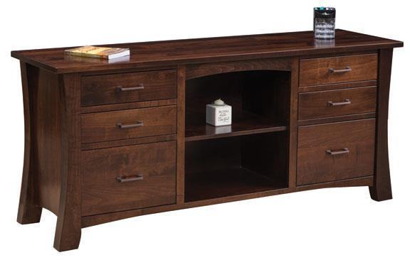 Amish Lexington Credenza with Optional Hutch Top