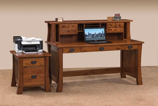 Amish Creston Deluxe Writing Desk