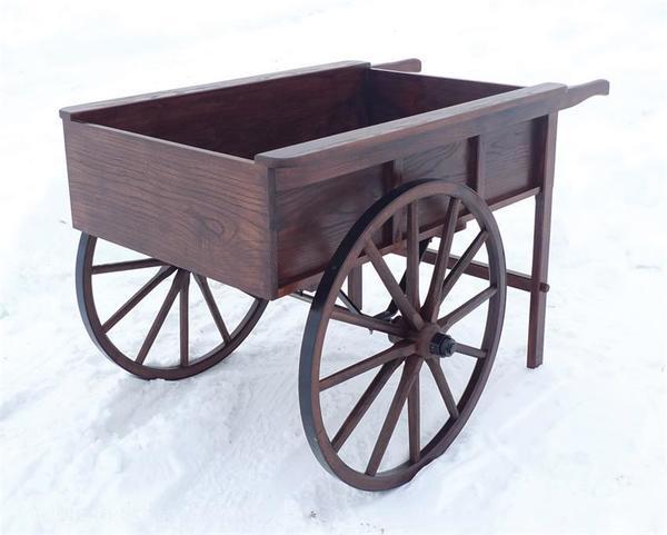 Amish Peddler's Cart