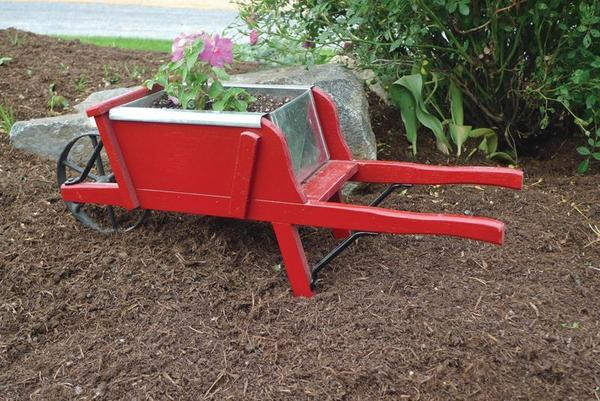 Amish Old Fashioned Wheelbarrow - Mini Premium