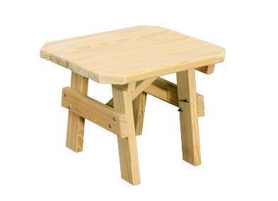 "Amish Pine Wood 22"" x 24"" Coffee Table"