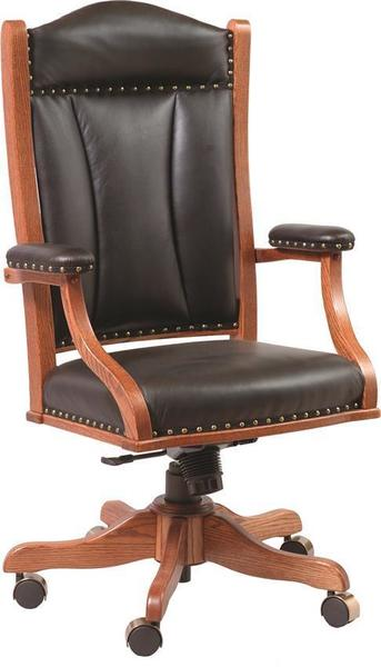 Amish Upholstered Executive Office Chair